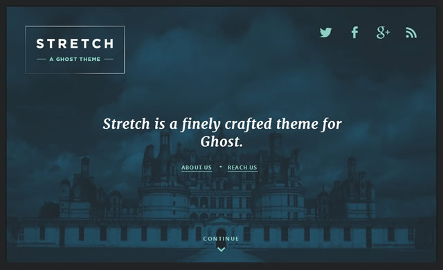Stretch - Ghost Theme